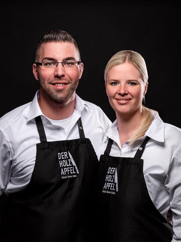 Chantal und Patrick Holzapfel