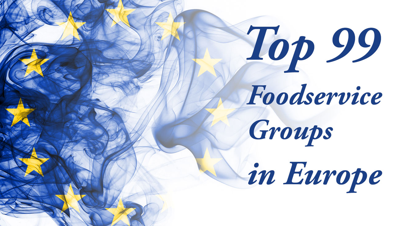 Top 99 Food Service groups in europe